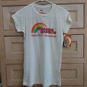 NWT Reading Rainbow t-shirt
